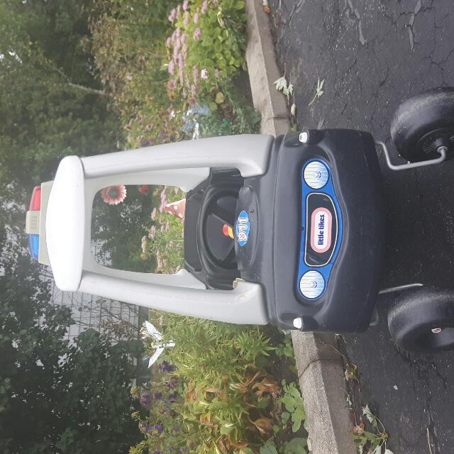 Little Tikes Police Car