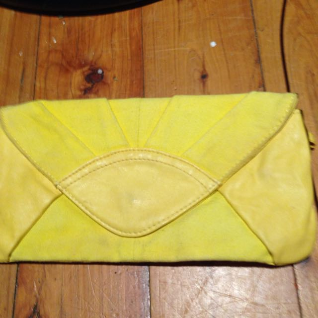 Lovely Yellow Clutch