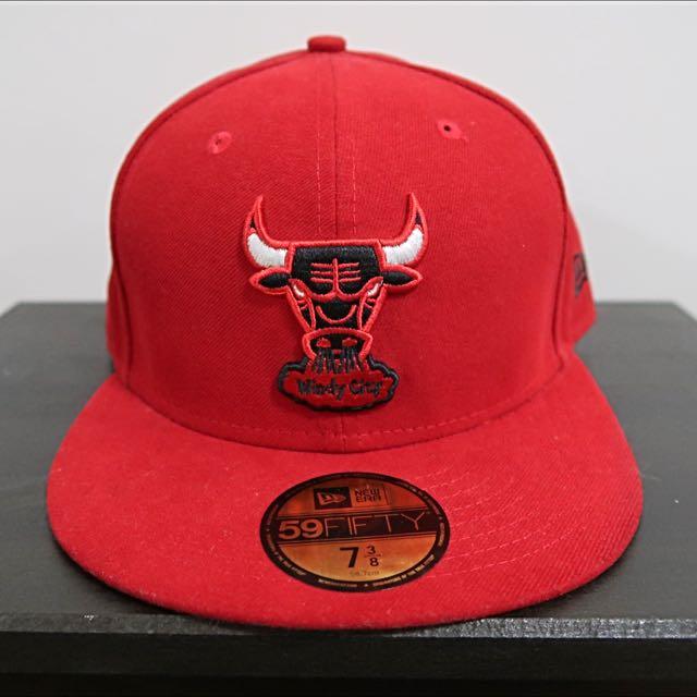 a2686b9cfb4 New Era Chicago Bulls Windy City Fitter 59Fifty Cap Hat