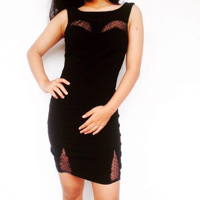 NEW! Miss Selfridge Black Dress