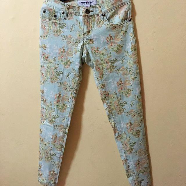 NEXT Floral Jeans