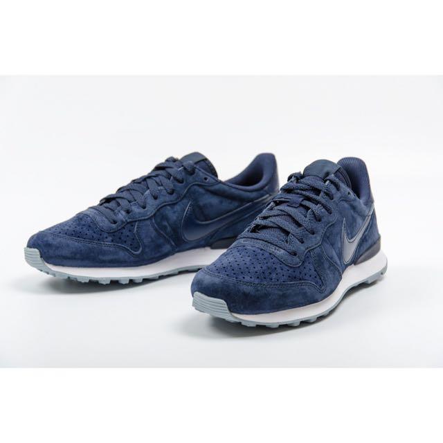 Nike Internationalist 麂皮 深藍