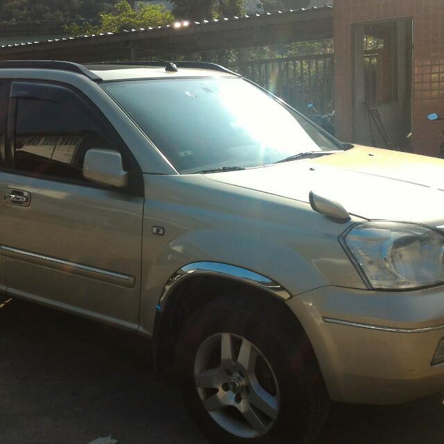 自售Nissan 2004x Trail 4wd,天窗版