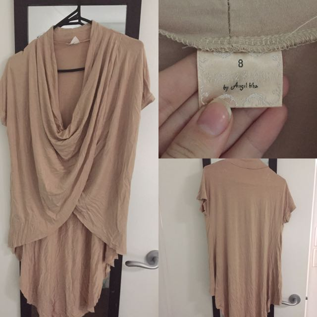 Nude Long Short Top