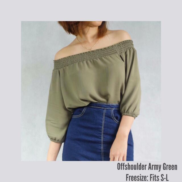 OFFSHOULDER ARMY
