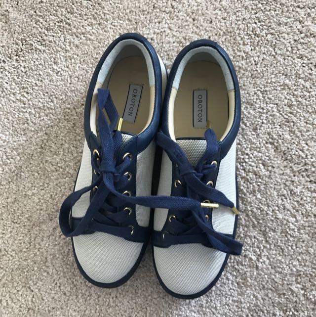 Oroton Sneakers Size 37 [price Drop]
