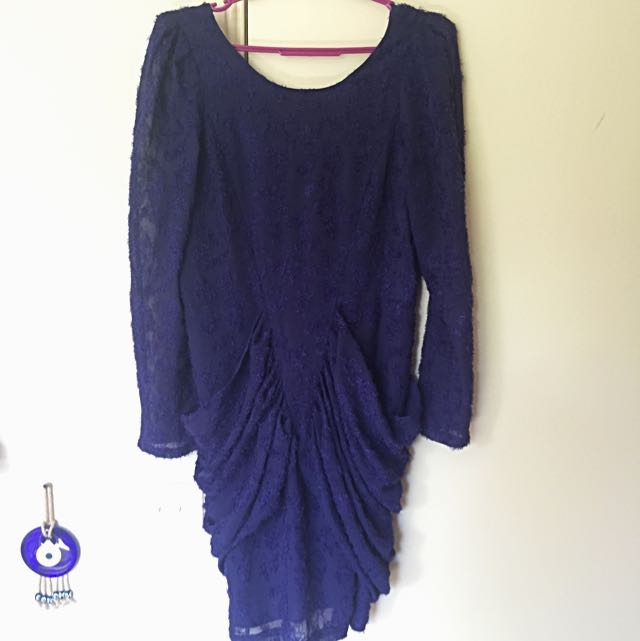 Purple BYSI party dress
