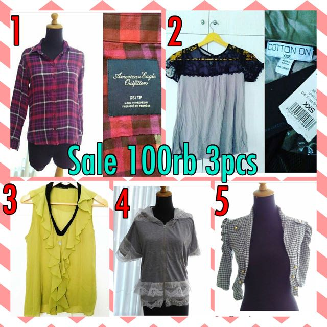 Sale!! 100rb 3pcs