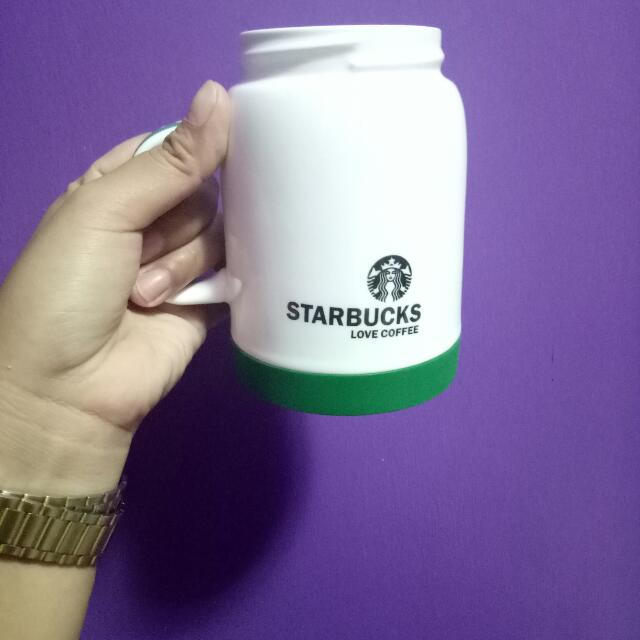 Starbucks Mug With Cover