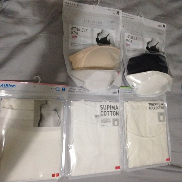 UNIQLO 5 Set Of Inner Wear& Bra