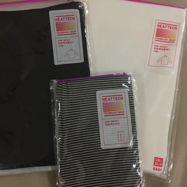 555d39a88fc03 Uniqlo Heattech long sleeves and Leggings, Babies & Kids, Girls ...