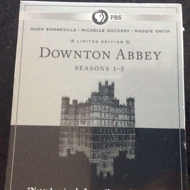 Unopened Downton Abbey Season 1-5 Box set