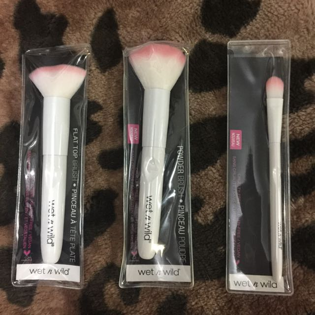 Wet And Wild Brushes