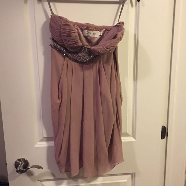 Women's Pink Lipsy London Dress Size 6