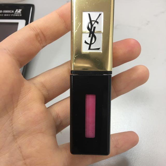 Ysl奢華緞面鏡光唇釉 水吻系列