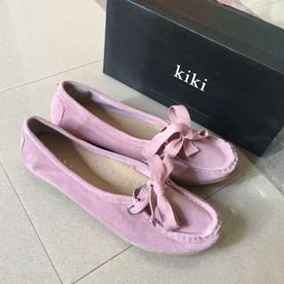 Kiki Pink Leather Shoes