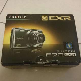 Fujifilm F70 EXR(銀色)