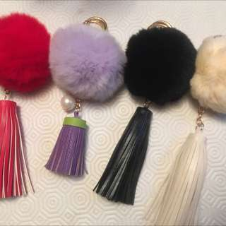 Faux Fur Charms