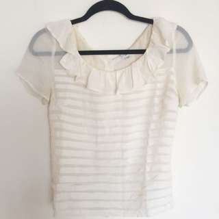 Wilfred Pleated Top