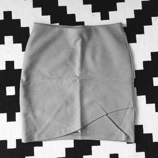 Talula Cross Front Mini Skirt