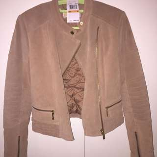 authentic MICHAEL KORS suede leather jacket