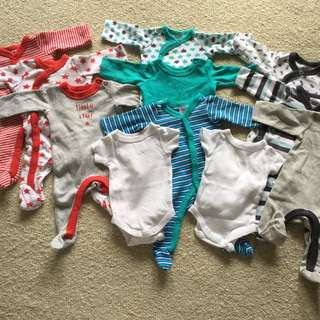 Tiny Baby 00000 Clothes Pack