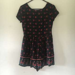 Ally fashion Floral Playsuit!