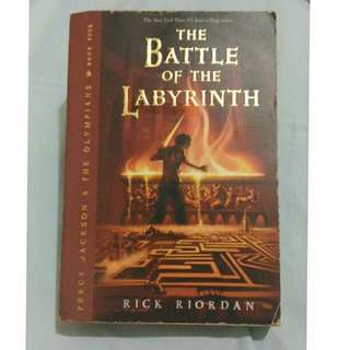 Percy Jackson - The Battle Of The Labyrinth By Rick Riordan