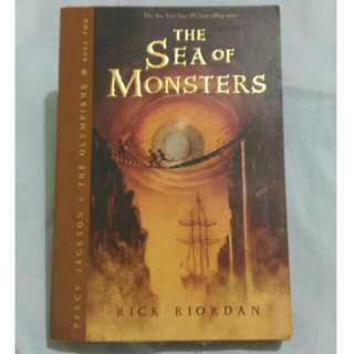 Percy Jackson - The Sea Of Monsters By Rick Riordan