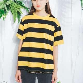 小蜜蜂條紋上衣 購於per