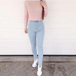 He Jeans Light Blue