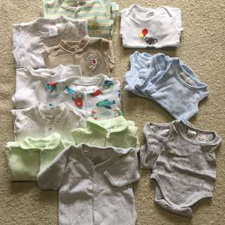 Pack Of Tiny Baby 00000 Clothes