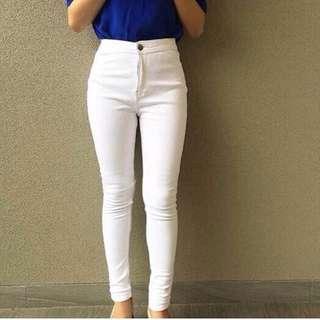 Hw Jeans White