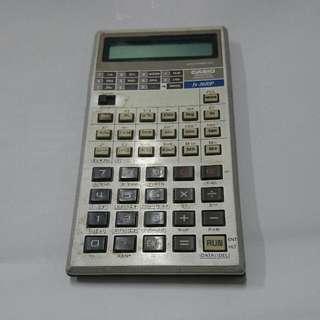 日製早期卡西歐 fx3600P