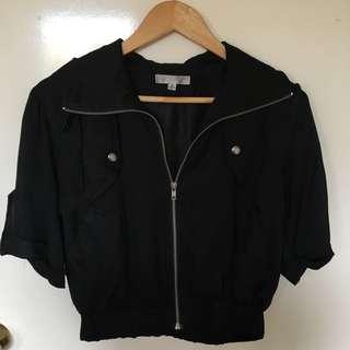 Tempt Bomber Jacket Style Short Sleeve