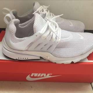 (二手)Nike Air Presto 全白 魚骨鞋