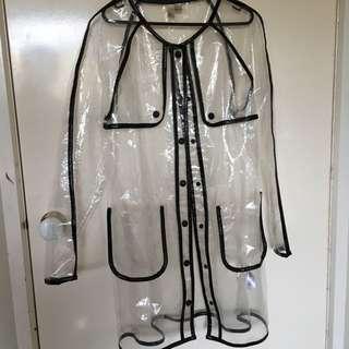 Clear Raincoat Medium