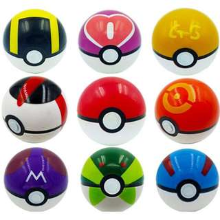 PO Pokemon Balls