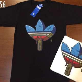 Adidas Black Top Tee T- shirt  . Men & Women Unisex