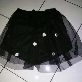 Black Skirt Pants