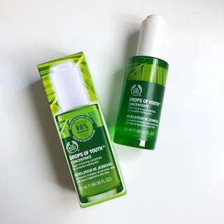 植物幹細胞活肌精華 Drops of Youth™ Concentrate  - The Body Shop
