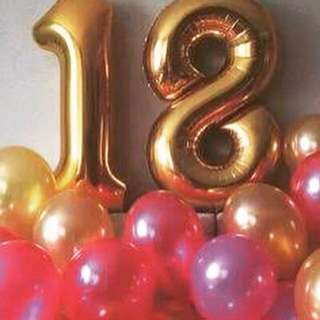 2ft. Number Balloons