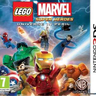 WTB 3DS Lego Marvel Super Heroes