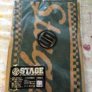 STAGE巾