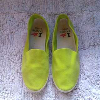 Yellow Slip On