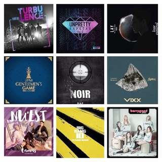 GOT7 / BERRY GOOD / UNPRETTY RAPSTAR / 2PM / BIG BANG / BAP / LAY / EXO / VIXX / NUEST ALBUM
