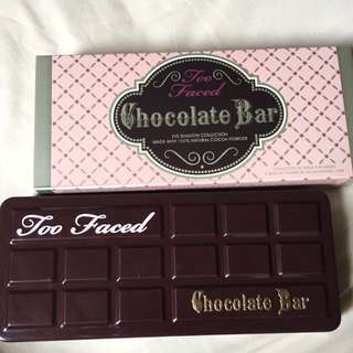 Too face chocolate bar pallete