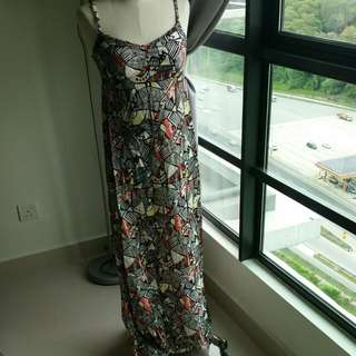 H&M Printed Maxi Dress