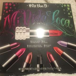 Kat Von D 'Mi Vida Loca' Lip Set ~ Limited Edition