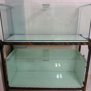 Reserved 4ft Fish Tank Set. Pending to collect